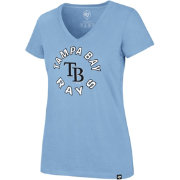 '47 Women's Tampa Bay Rays Ultra Rival V-Neck T-Shirt