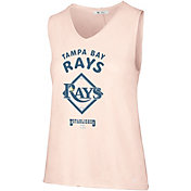 '47 Women's Tampa Bay Rays V-Neck Tank Top
