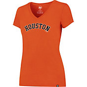'47 Women's Houston Astros Orange T-Shirt