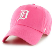 '47 Women's Detroit Tigers Clean Up Pink Adjustable Hat