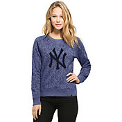 '47 Women's New York Yankees Navy Expedition Long Sleeve Shirt