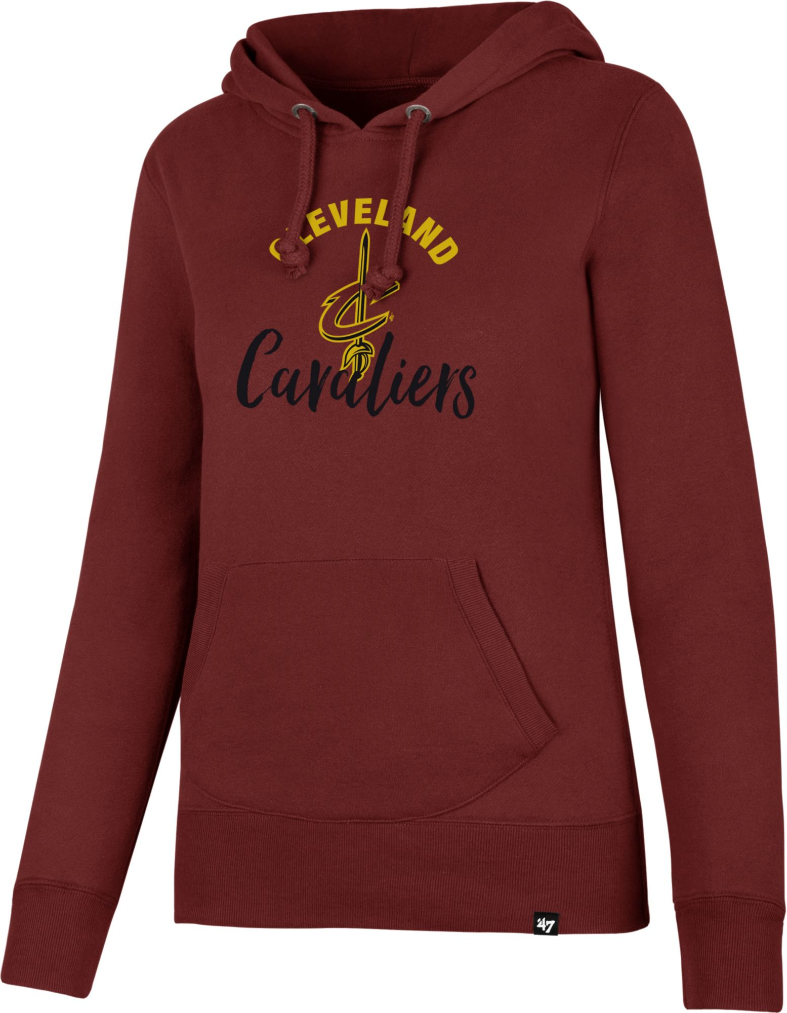 47 Women's Cleveland Cavaliers Burgundy Pullover Hoodie | DICK'S ...