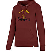 '47 Women's Cleveland Cavaliers Burgundy Pullover Hoodie