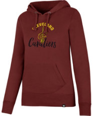 47 Women's Cleveland Cavaliers Burgundy Pullover Hoodie | DICK'S ...