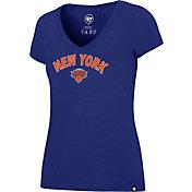 '47 Women's New York Knicks Arch Basic Royal V-Neck T-Shirt