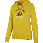 '47 Women's Los Angeles Lakers Gold Pullover Hoodie