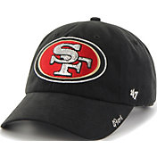 '47 Women's San Francisco 49ers Sparkle Clean Up Black Adjustable Hat