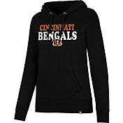 '47 Women's Cincinnati Bengals Headline Black Pullover Hoodie