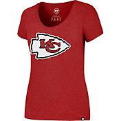 '47 Women's Kansas City Chiefs Logo Club Red T-Shirt