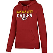 '47 Women's Kansas City Chiefs Headline Red Pullover Hoodie
