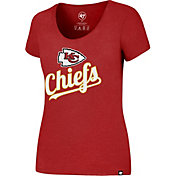 '47 Women's Kansas City Chiefs Regional Club Scoop Red T-Shirt