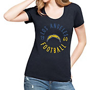 '47 Women's Los Angeles Chargers L.A. Club Navy T-Shirt