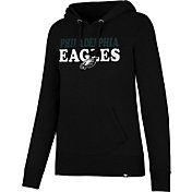'47 Women's Philadelphia Eagles Headline Black Pullover Hoodie
