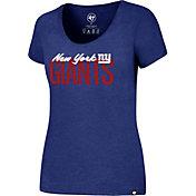 '47 Women's New York Giants Foil Royal T-Shirt