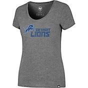 '47 Women's Detroit Lions Club Grey T-Shirt