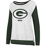 '47 Women's Green Bay Packers Kayla Crew Neck Sweater