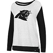 '47 Women's Carolina Panthers Kayla Crew Neck Sweater