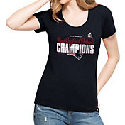'47 Women's Super Bowl LI Champions New England Patriots Club Navy T-Shirt