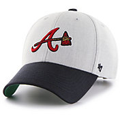 '47 Youth Atlanta Braves Thurman Grey MVP Adjustable Hat