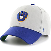 '47 Youth Milwaukee Brewers Thurman Grey MVP Adjustable Hat