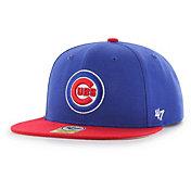 '47 Youth Chicago Cubs Lil' Shot Captain Royal Adjustable Snapback Hat
