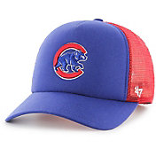 '47 Youth Chicago Cubs Barlow Captain Grey Adjustable Snapback Hat