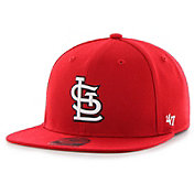 '47 Youth St. Louis Cardinals Lil' Shot Captain Red Adjustable Snapback Hat