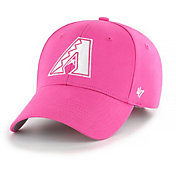 '47 Youth Girls' Arizona Diamondbacks Basic Pink Adjustable Hat