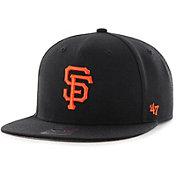 '47 Youth San Francisco Giants Lil' Shot Captain Black Adjustable Snapback Hat