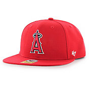'47 Youth Los Angeles Angels Lil' Shot Captain Red Adjustable Snapback Hat