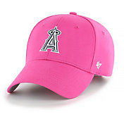 '47 Youth Girls' Los Angeles Angels Basic Pink Adjustable Hat