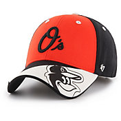 '47 Youth Baltimore Orioles Akela MVP Black Adjustable Hat