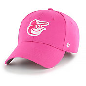 '47 Youth Girls' Baltimore Orioles Basic Pink Adjustable Hat