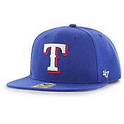 '47 Youth Texas Rangers Lil' Shot Captain Royal Adjustable Snapback Hat