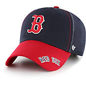 '47 Youth Boston Red Sox Cross Stack MVP Adjustable Hat