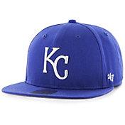 '47 Youth Kansas City Royals Lil' Shot Captain Royal Adjustable Snapback Hat