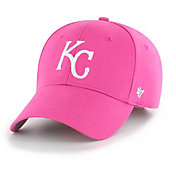 '47 Youth Girls' Kansas City Royals Basic Pink Adjustable Hat