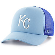 '47 Youth Kansas City Royals Barlow Captain Grey Adjustable Snapback Hat