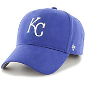 '47 Youth Kansas City Royals Basic Royal Adjustable Hat