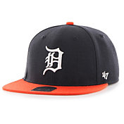 '47 Youth Detroit Tigers Lil' Shot Captain Navy Adjustable Snapback Hat