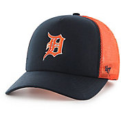 '47 Youth Detroit Tigers Barlow Captain Grey Adjustable Snapback Hat