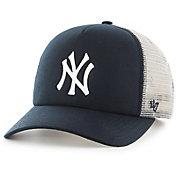 '47 Youth New York Yankees Barlow Captain Grey Adjustable Snapback Hat