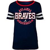 5th & Ocean Women's Atlanta Braves Scoop Neck Shirt