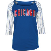 New Era Women's Chicago Cubs Three-Quarter Sleeve Shirt