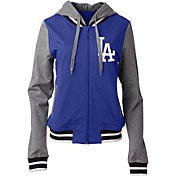 5th & Ocean Women's Los Angeles Dodgers Full-Zip Hoodie