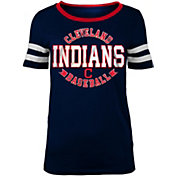 5th & Ocean Women's Cleveland Indians Scoop Neck Shirt