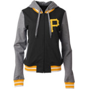 5th & Ocean Women's Pittsburgh Pirates Full-Zip Hoodie