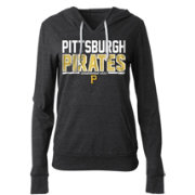 5th & Ocean Women's Pittsburgh Pirates Tri-Blend Pullover Hoodie