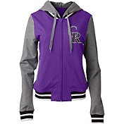 5th & Ocean Women's Colorado Rockies Full-Zip Hoodie