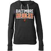 5th & Ocean Women's Baltimore Orioles Tri-Blend Pullover Hoodie